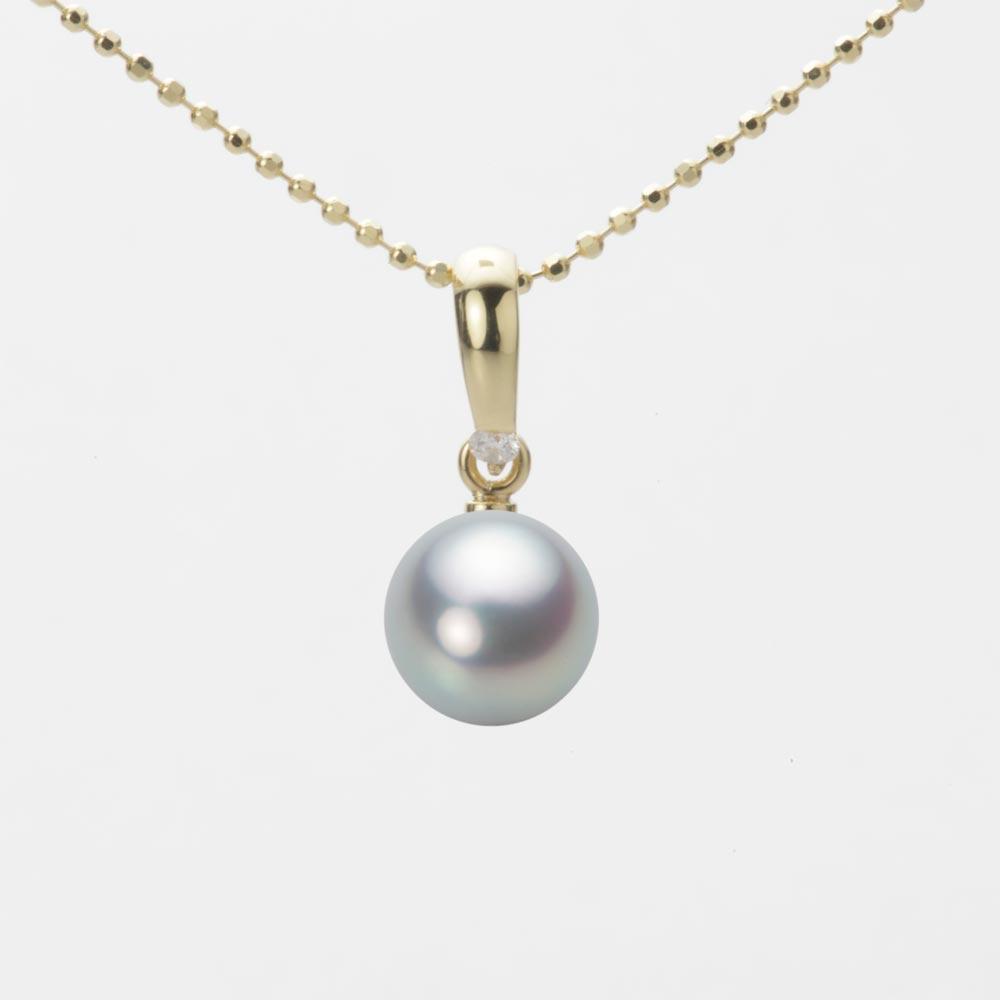 あこや真珠 パール ペンダント トップ 7.0mm アコヤ 真珠 ペンダント トップ K18 イエローゴールド レディース HA00070R11SG01500Y-T