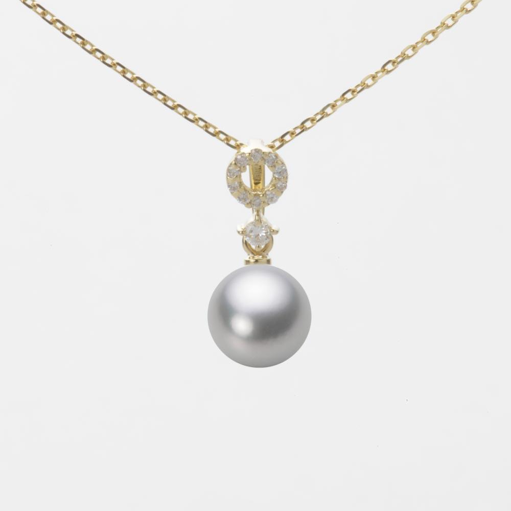 あこや真珠 パール ペンダント トップ 7.0mm アコヤ 真珠 ペンダント トップ K18 イエローゴールド レディース HA00070R12SG01474Y-T