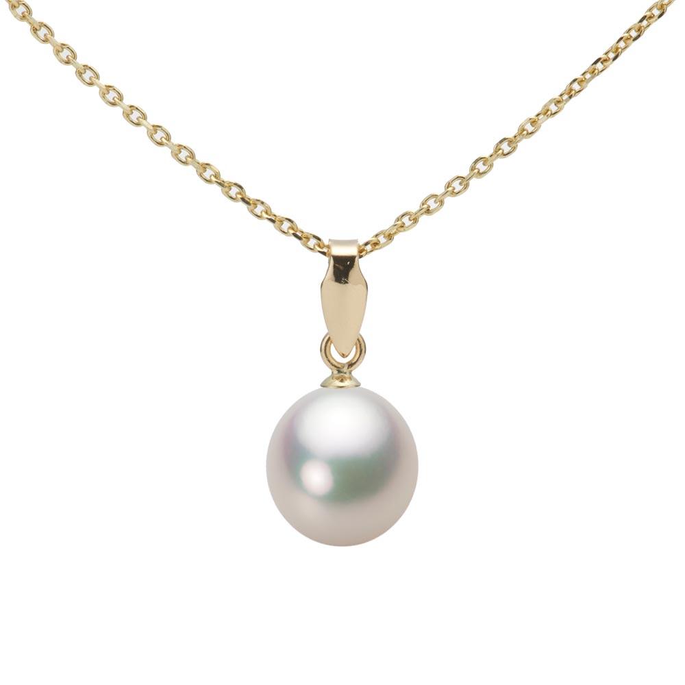 あこや真珠 パール ペンダント トップ 7.5mm アコヤ 真珠 ペンダント トップ K18 イエローゴールド レディース HA00075D11CW0U5Y00-T