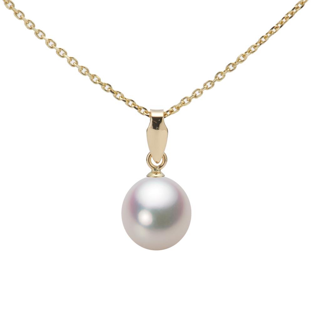 あこや真珠 パール ペンダント トップ 7.5mm アコヤ 真珠 ペンダント トップ K18 イエローゴールド レディース HA00075D11WPGU5Y00-T