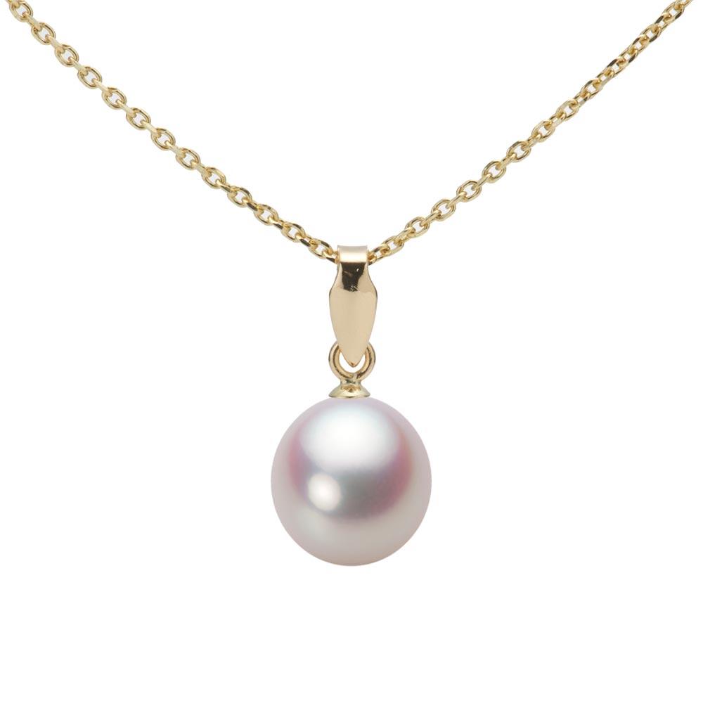 あこや真珠 パール ペンダント トップ 7.5mm アコヤ 真珠 ペンダント トップ K18 イエローゴールド レディース HA00075D11WPNU5Y00-T