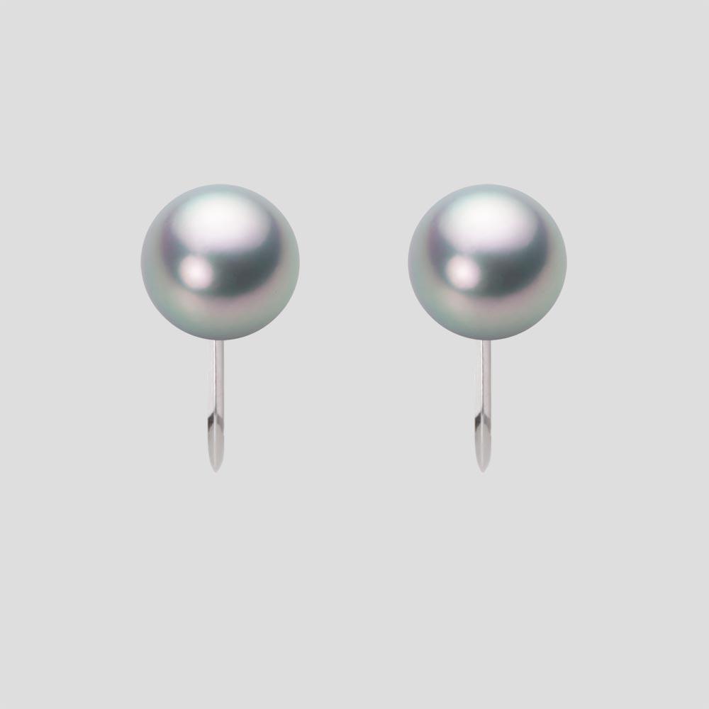 HA00075R11SG0Y09P0 プラチナ 7.5mm パール アコヤ 真珠 レディース イヤリング イヤリング Pt900 あこや真珠
