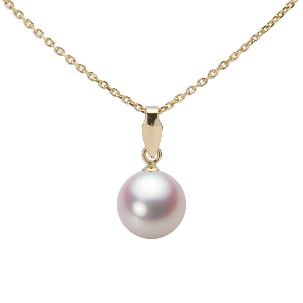 あこや真珠 パール ペンダント トップ 7.5mm アコヤ 真珠 ペンダント トップ K18 イエローゴールド レディース HA00075R11WPNU5Y00-T