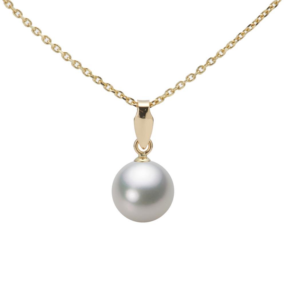 あこや真珠 パール ペンダント トップ 7.5mm アコヤ 真珠 ペンダント トップ K18 イエローゴールド レディース HA00075R13SG0U5Y00-T