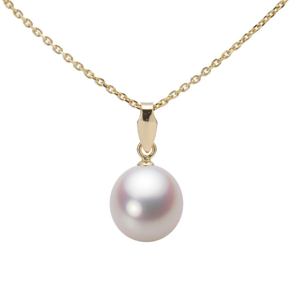 あこや真珠 パール ペンダント トップ 8.5mm アコヤ 真珠 ペンダント トップ K18 イエローゴールド レディース HA00085D12WPNU5Y00-T