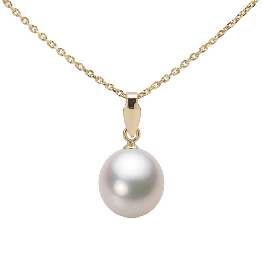 あこや真珠 パール ペンダント トップ 8.5mm アコヤ 真珠 ペンダント トップ K18 イエローゴールド レディース HA00085D13WPGU5Y00-T