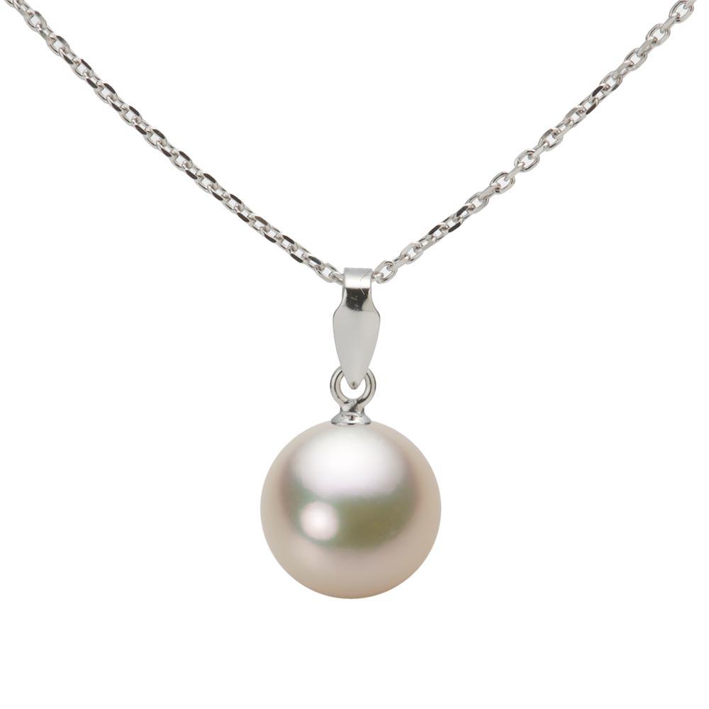 あこや真珠 パール ペンダント トップ 8.5mm アコヤ 真珠 ペンダント トップ K18WG ホワイトゴールド レディース HA00085R12CG0U188W-T