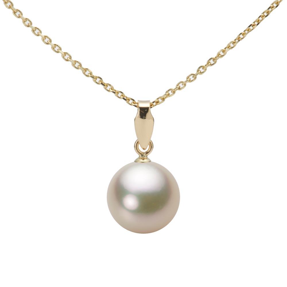 あこや真珠 パール ペンダント トップ 8.5mm アコヤ 真珠 ペンダント トップ K18 イエローゴールド レディース HA00085R12CG0U5Y00-T