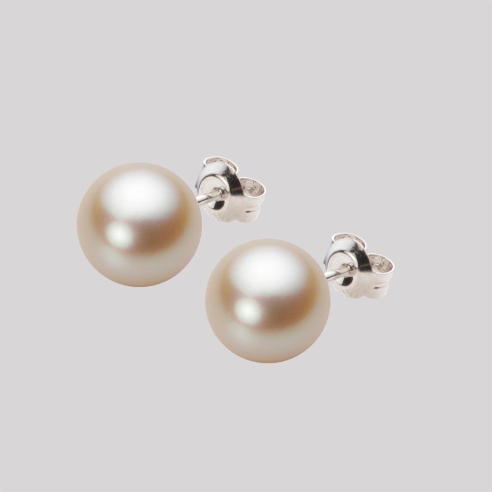あこや真珠 パール ピアス 8.5mm アコヤ 真珠 ピアス K14WG ホワイトゴールド レディース HA00085R13NG0PA02W