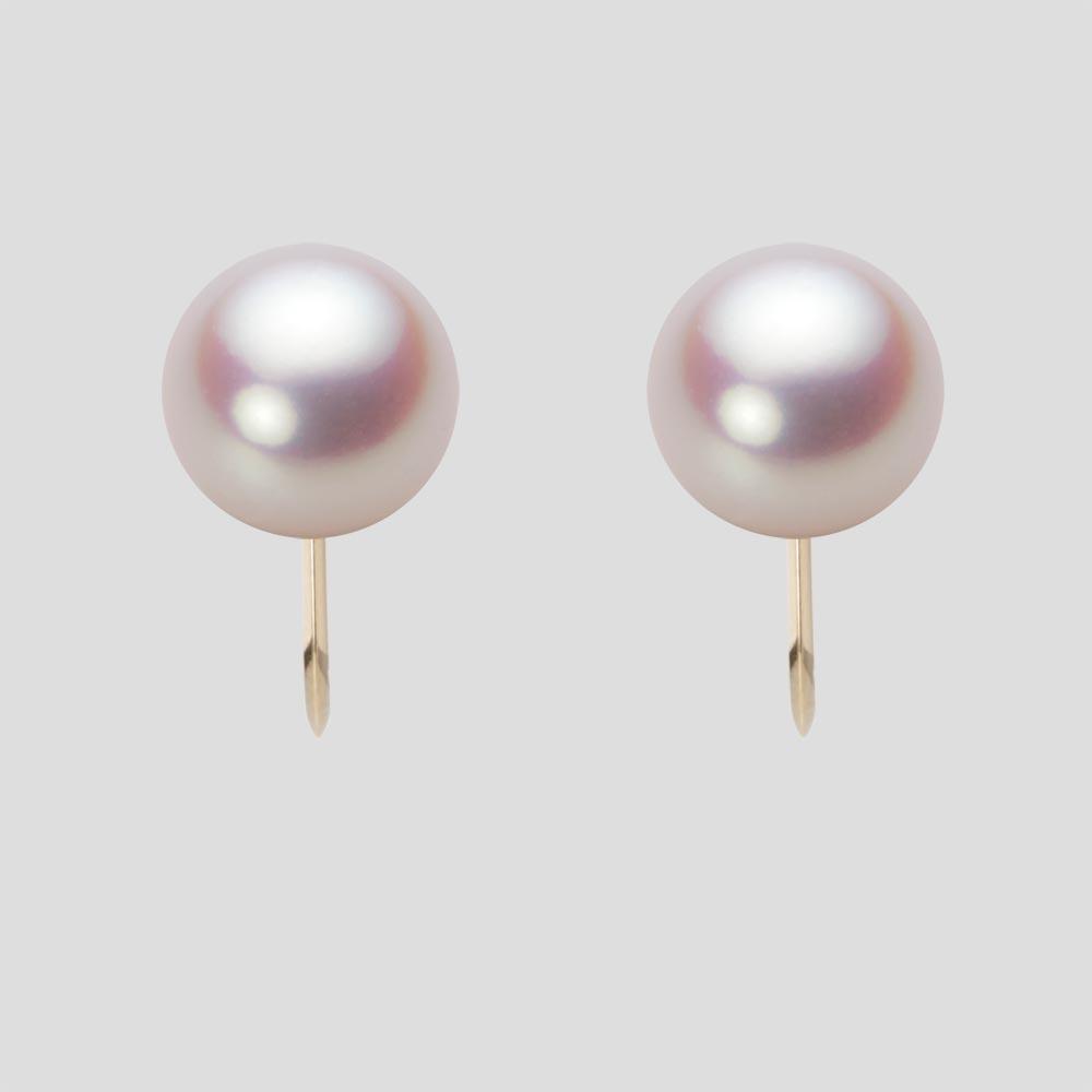 あこや真珠 パール イヤリング 9.0mm アコヤ 真珠 イヤリング K18 イエローゴールド レディース HA00090R11WPNY06Y0