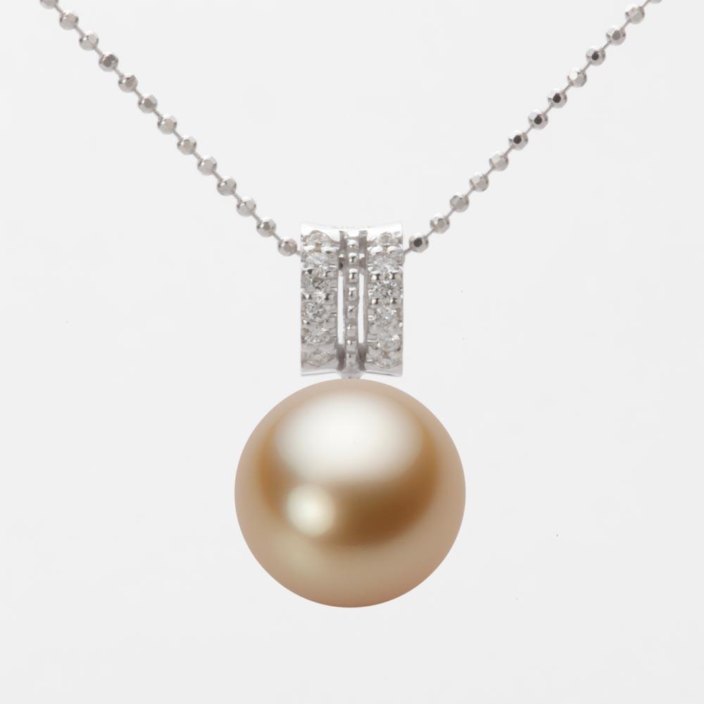 11mm レディース 白蝶 ネックレス ペンダント 真珠 ホワイトゴールド K18WG NW00011R23LG01278W パール