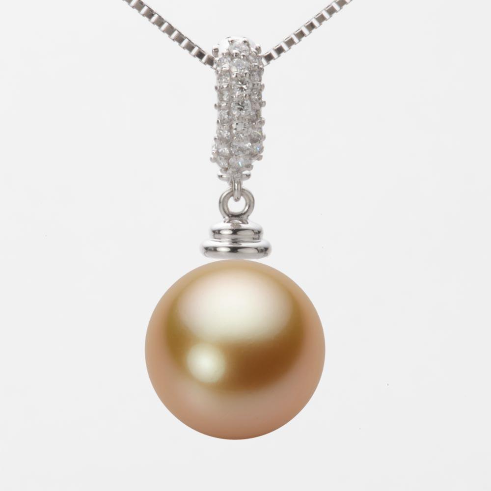 パール NW00012R13NG0115W0 白蝶 ホワイトゴールド レディース 真珠 K18WG 12mm ネックレス ペンダント