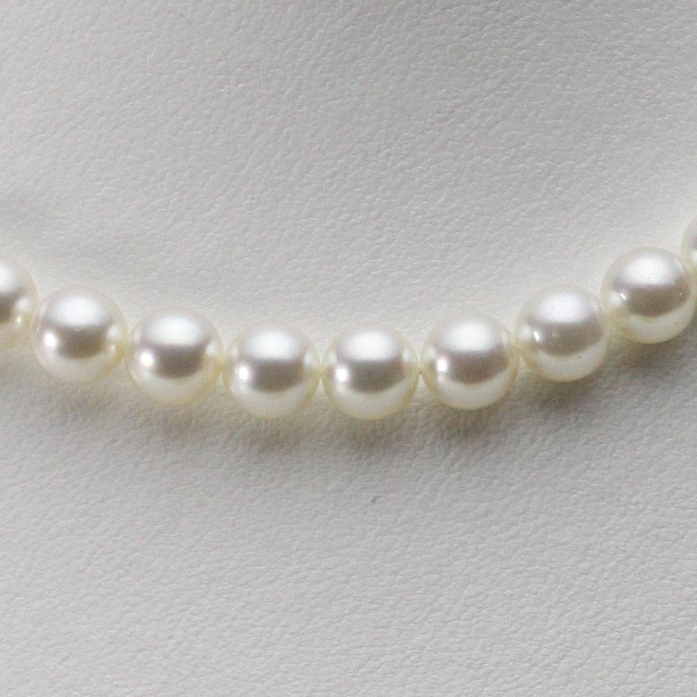 【ポイント10倍】 あこや真珠 パール ネックレス 8.0mm アコヤ 真珠 ネックレス レディース CA00080R33NW000000