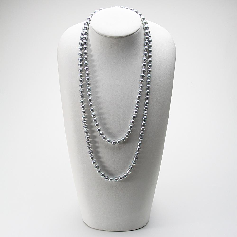 【ポイント10倍&創業90周年限定特価】 あこや真珠 ロングネックレス 7.5mm アコヤ真珠 120cm ロング ネックレス レディース FIN0103CA0075Q31SG