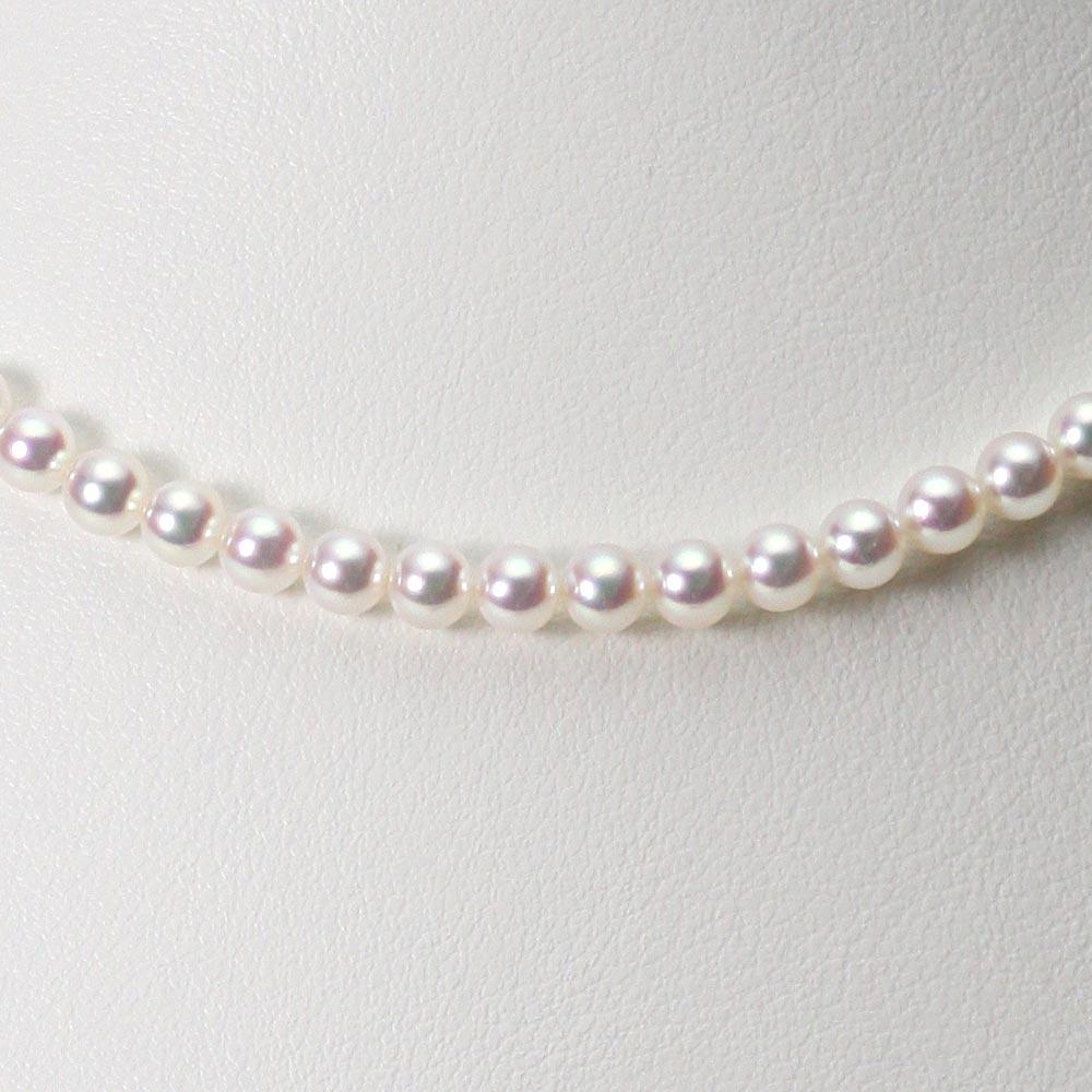 ベビーパール あこや真珠 ネックレス 4.5mm ベビーパール アコヤ 真珠 ネックレス レディース CA00045R11WPN00000
