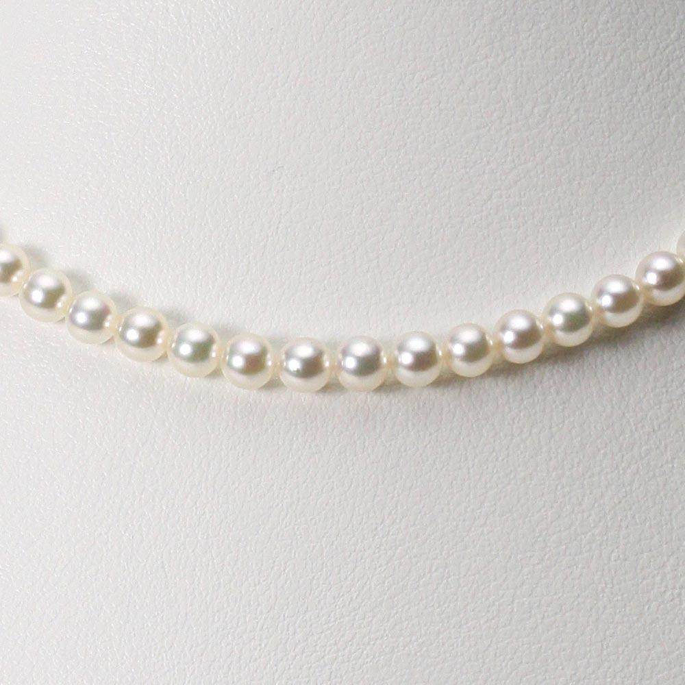 ベビーパール ネックレス 4.5mm ベビーパール アコヤ 真珠 ネックレス レディース CA00045R13CW000000