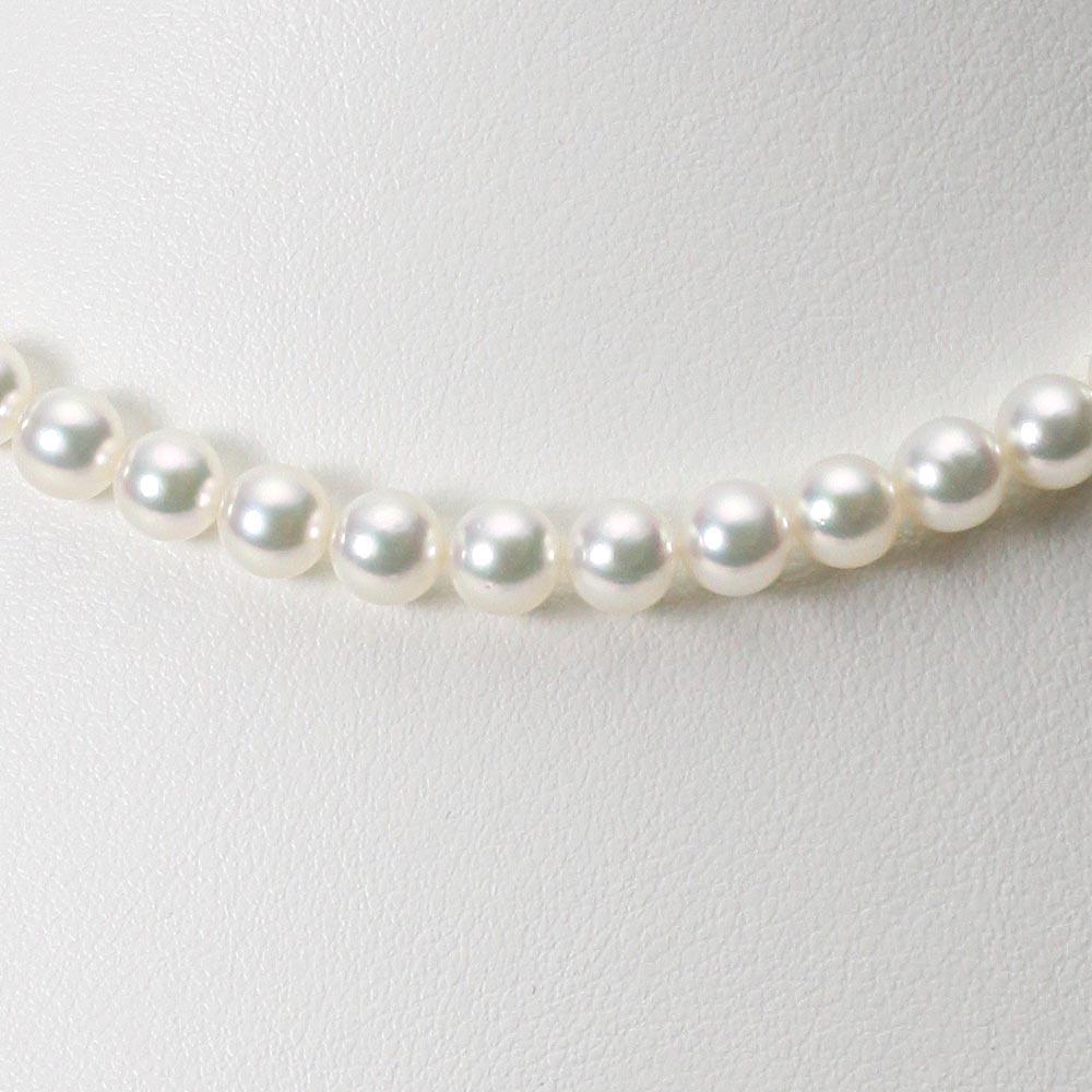 あこや真珠 パール ネックレス 6.0mm アコヤ 真珠 ネックレス レディース CA00060R13WPG00000