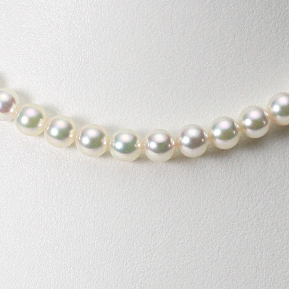 あこや真珠 パール ネックレス 6.5mm アコヤ 真珠 ネックレス レディース CA00065O12CW000000