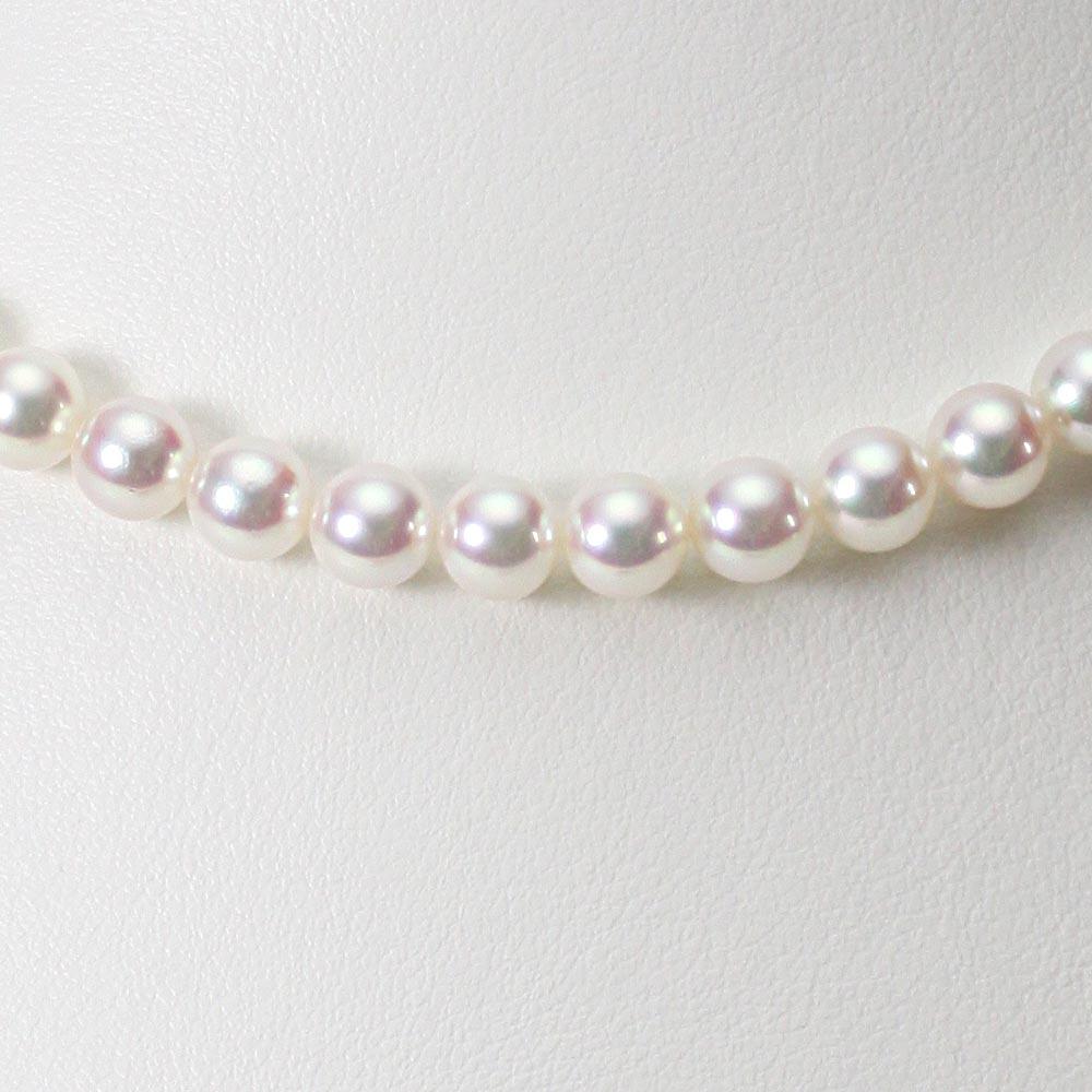 あこや真珠 パール ネックレス 6.5mm アコヤ 真珠 ネックレス レディース CA00065O12WPN00000