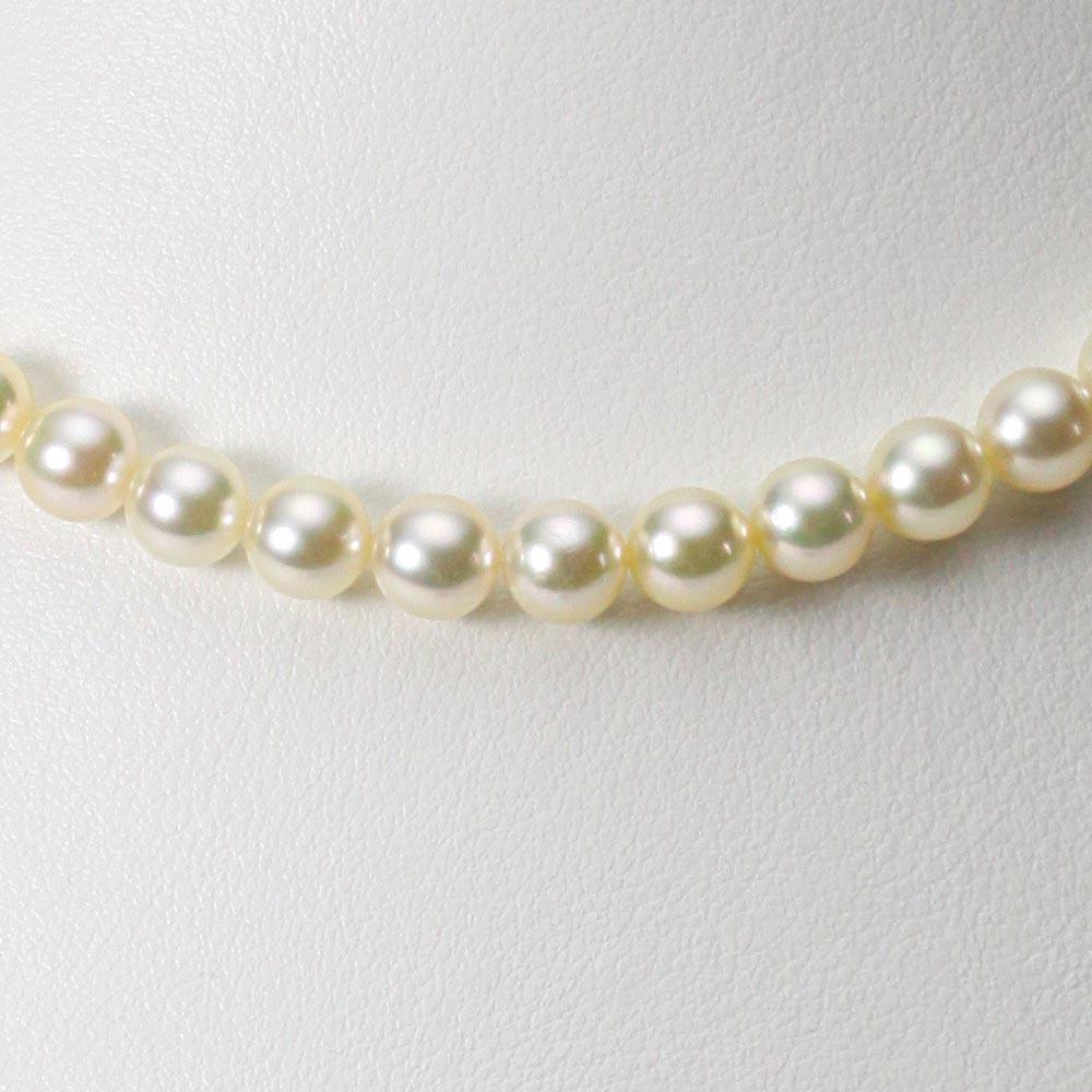 あこや真珠 パール ネックレス 6.5mm アコヤ 真珠 ネックレス レディース CA00065O13CG000000