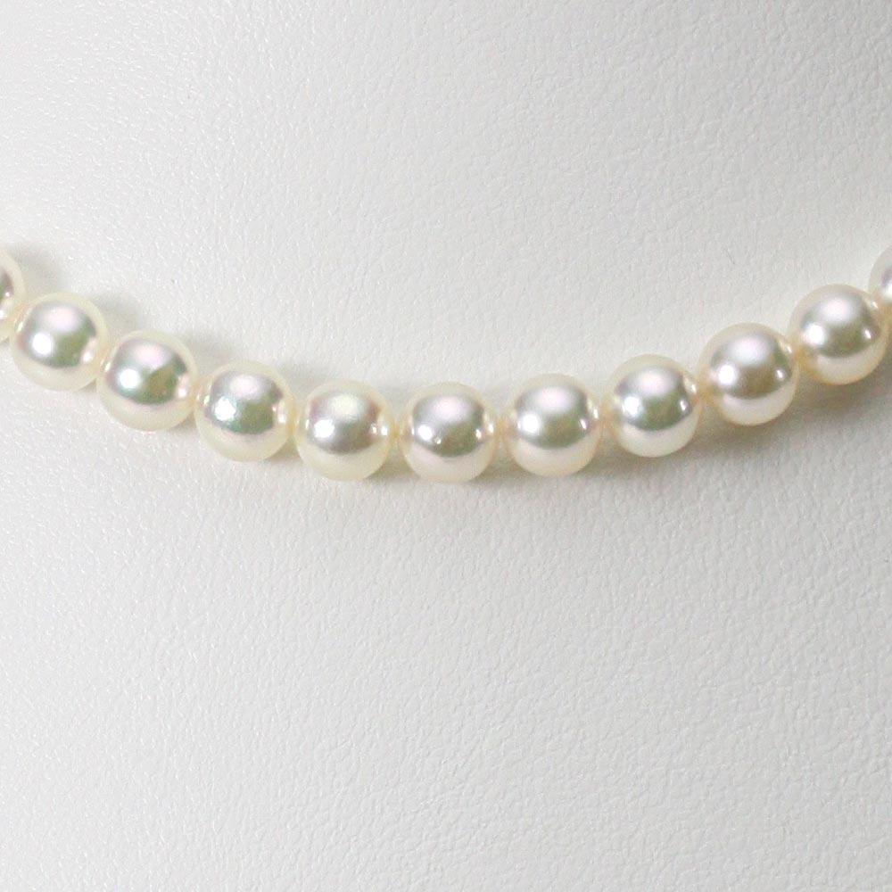 あこや真珠 パール ネックレス 6.5mm アコヤ 真珠 ネックレス レディース CA00065O32CW000000