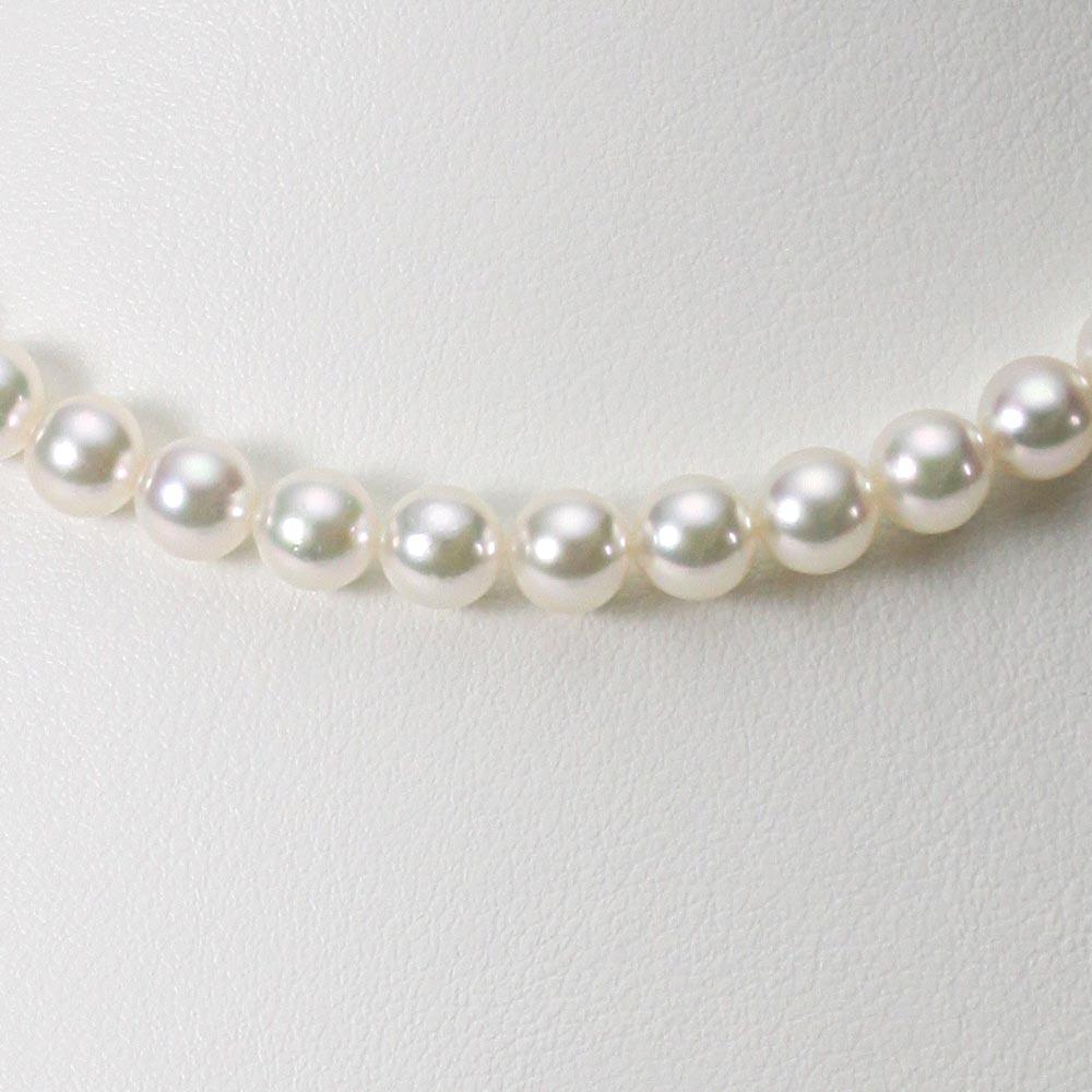 あこや真珠 パール ネックレス 6.5mm アコヤ 真珠 ネックレス レディース CA00065O53WPG00000