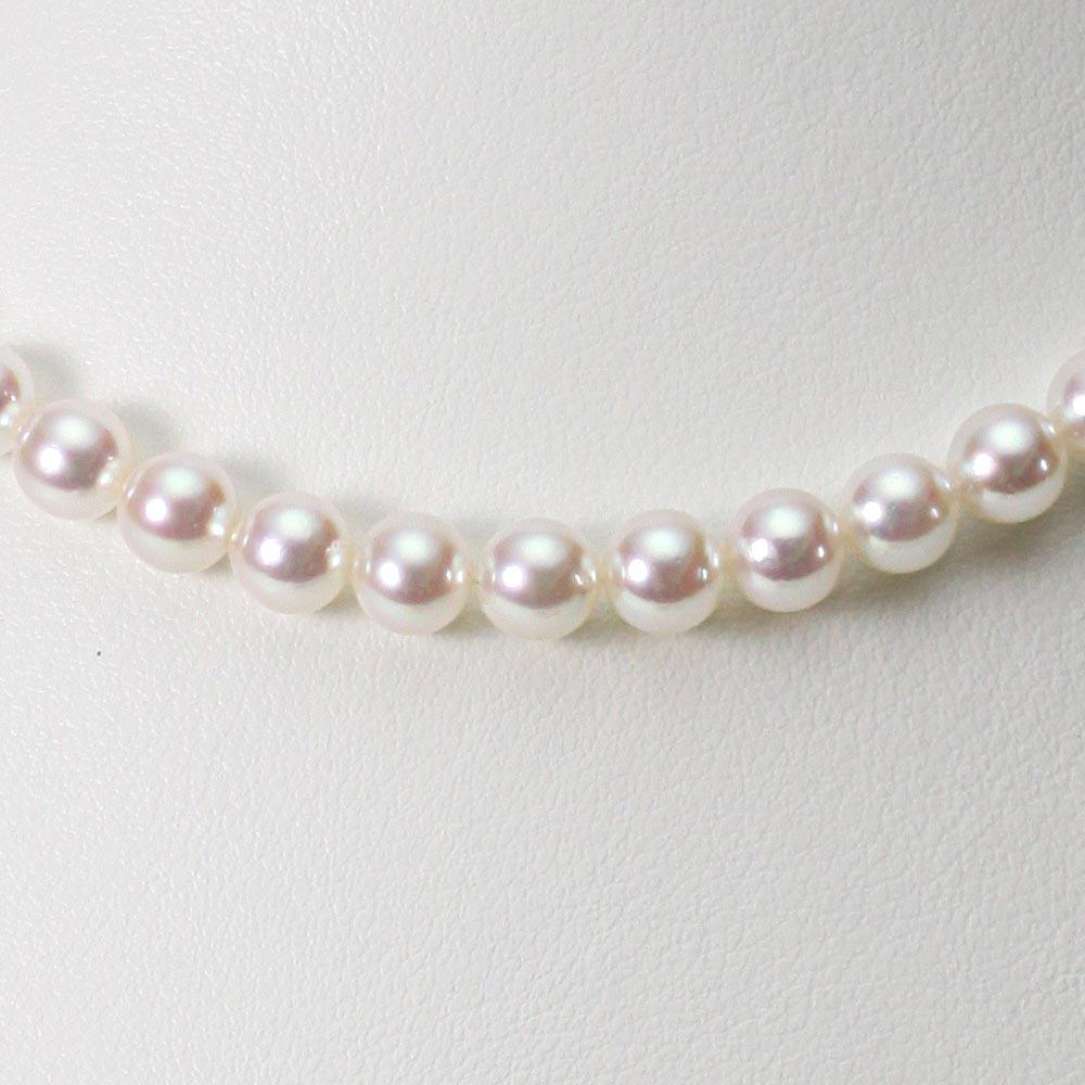 あこや真珠 パール ネックレス 6.5mm アコヤ 真珠 ネックレス レディース CA00065O53WPN00000