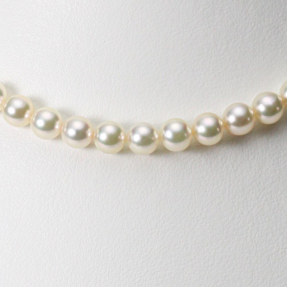 あこや真珠 パール ネックレス 6.5mm アコヤ 真珠 ネックレス レディース CA00065R23CG000000