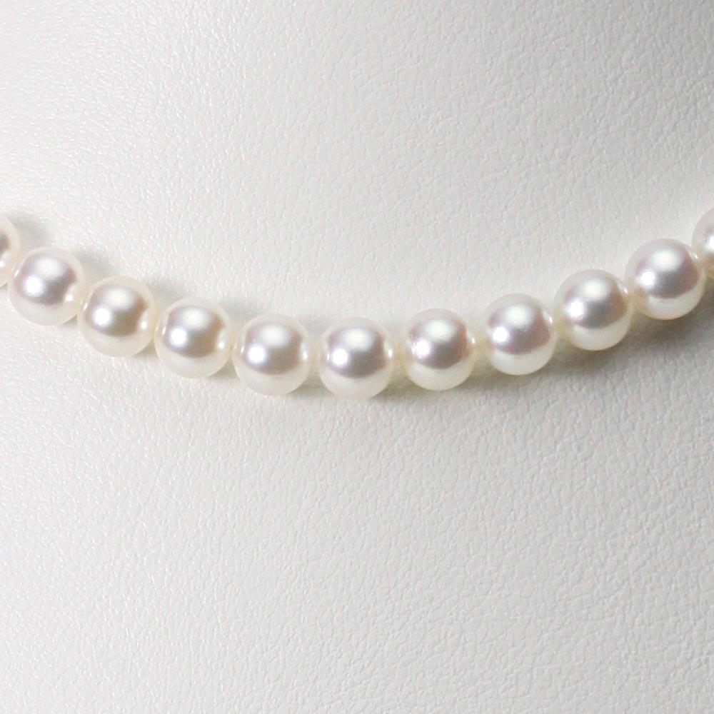 あこや真珠 パール ネックレス 6.5mm アコヤ 真珠 ネックレス レディース CA00065R23WPN00000