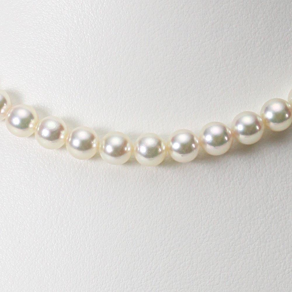 あこや真珠 パール ネックレス 6.5mm アコヤ 真珠 ネックレス レディース CA00065R32CW000000