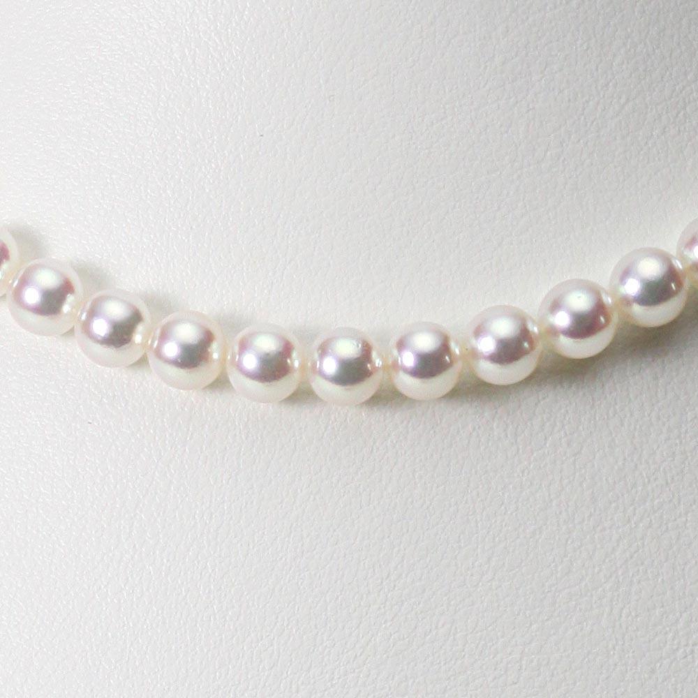 あこや真珠 パール ネックレス 6.5mm アコヤ 真珠 ネックレス レディース CA00065R32WPN00000