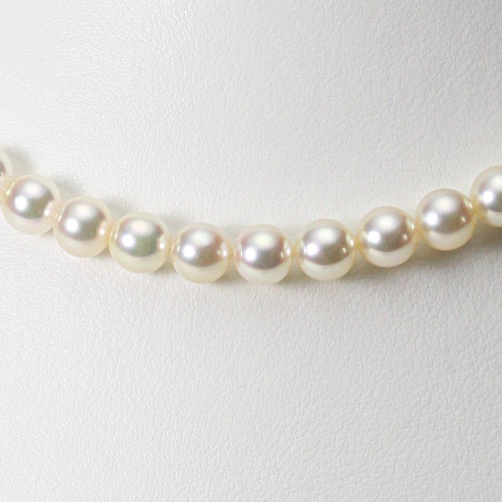 あこや真珠 パール ネックレス 7.0mm アコヤ 真珠 ネックレス レディース CA00070O12CG000000