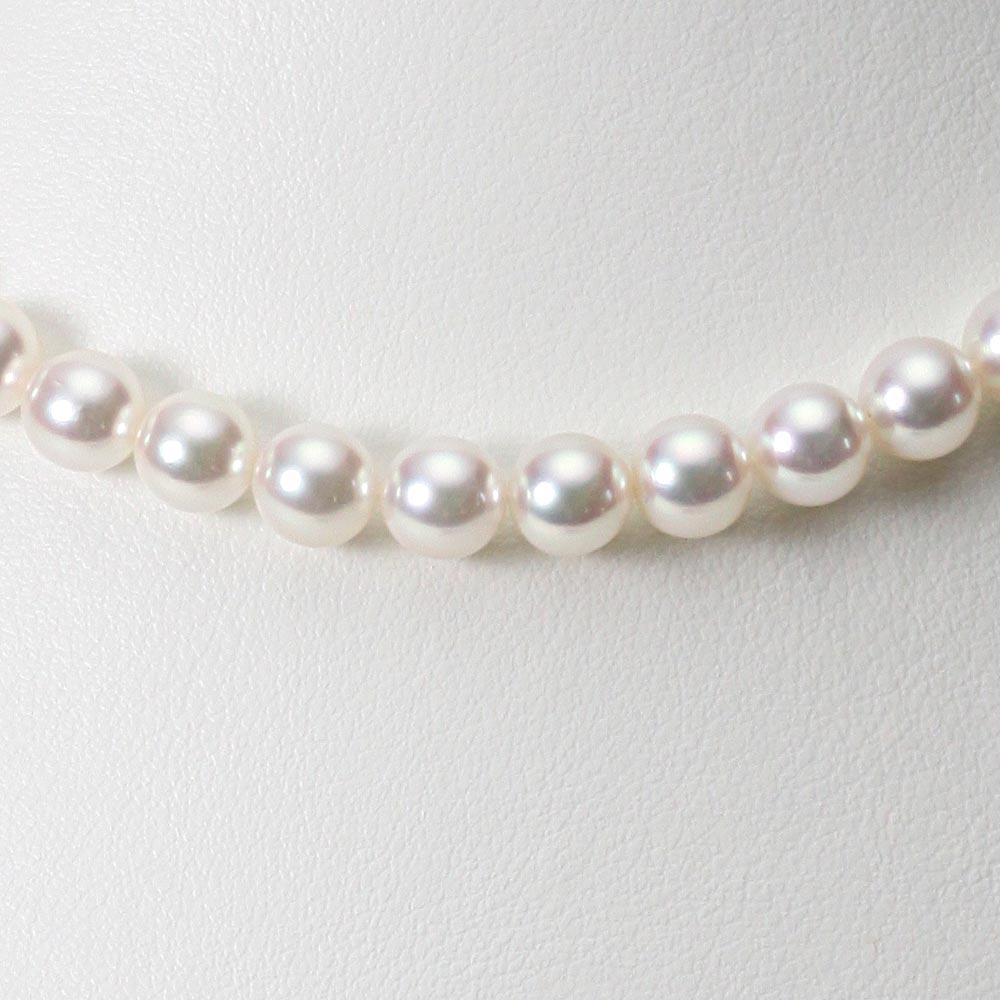 あこや真珠 パール ネックレス 7.0mm アコヤ 真珠 ネックレス レディース CA00070O12WPN00000
