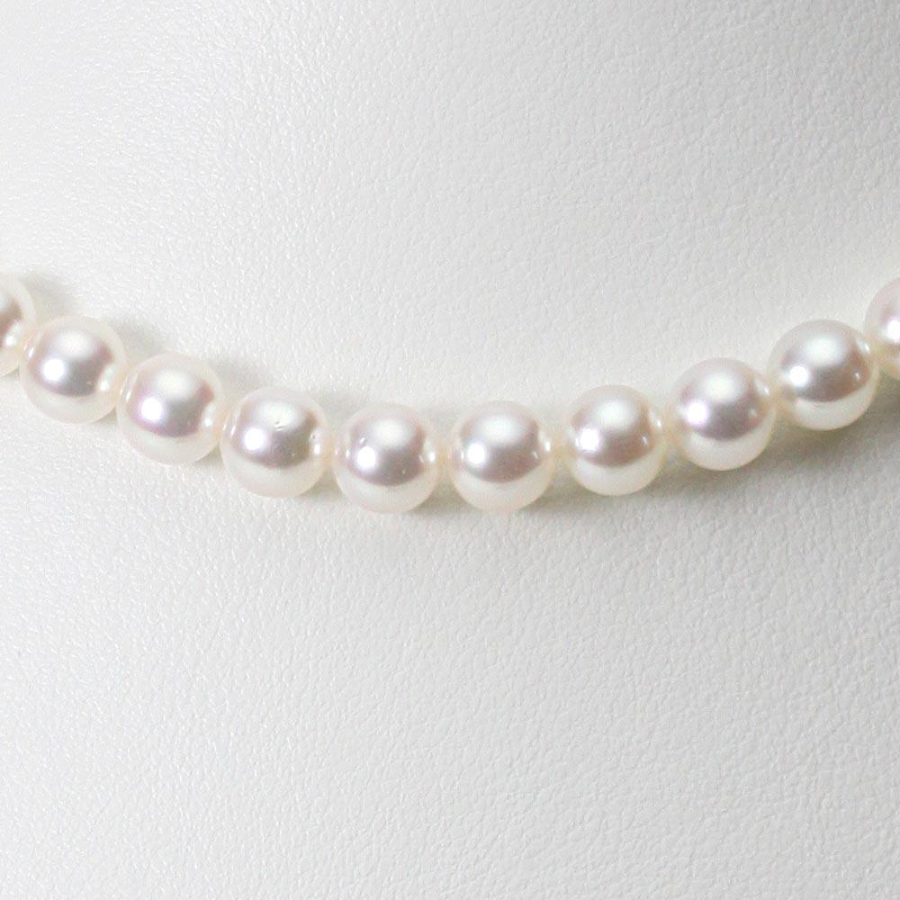 あこや真珠 パール ネックレス 7.0mm アコヤ 真珠 ネックレス レディース CA00070O33WPN00000