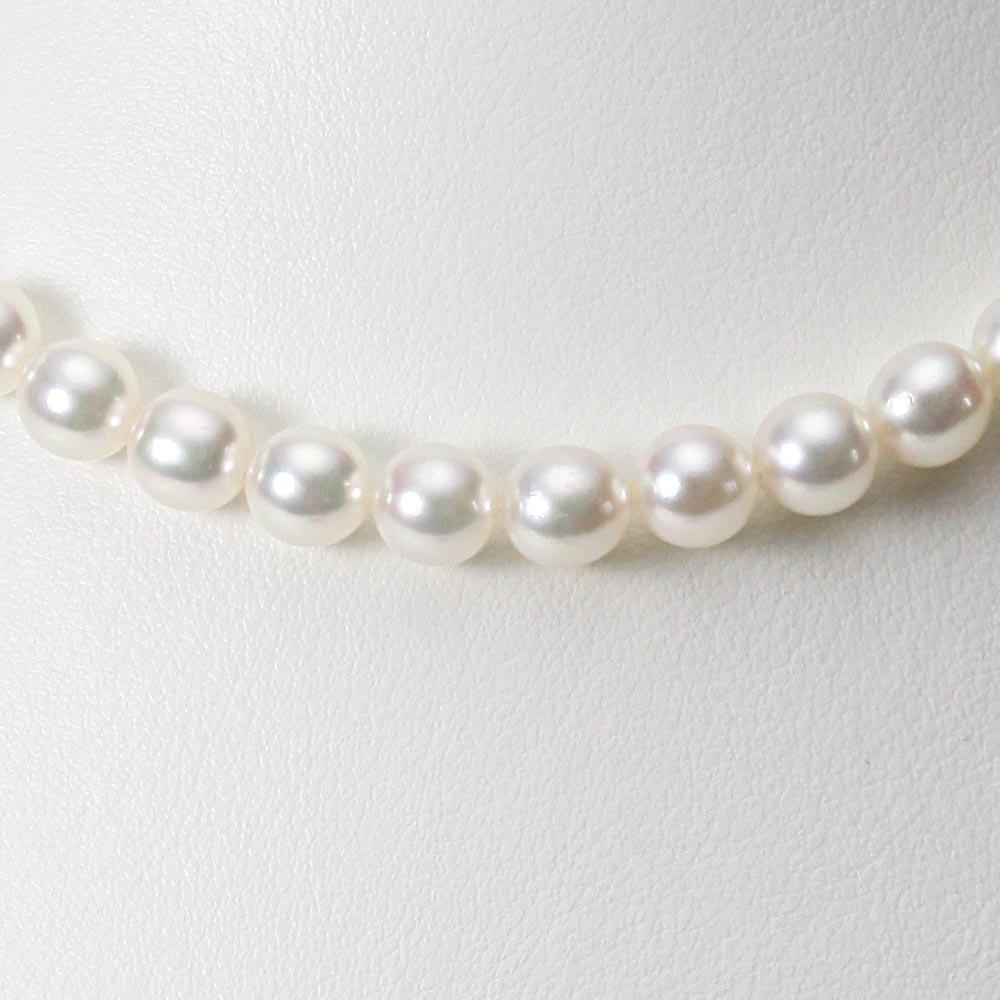 あこや真珠 パール ネックレス 7.0mm アコヤ 真珠 ネックレス レディース CA00070O43WPG00000