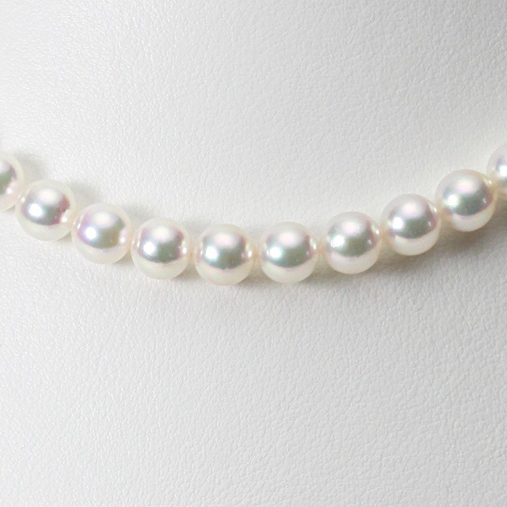 あこや真珠 パール ネックレス 7.0mm アコヤ 真珠 ネックレス レディース CA00070O51WPG00000