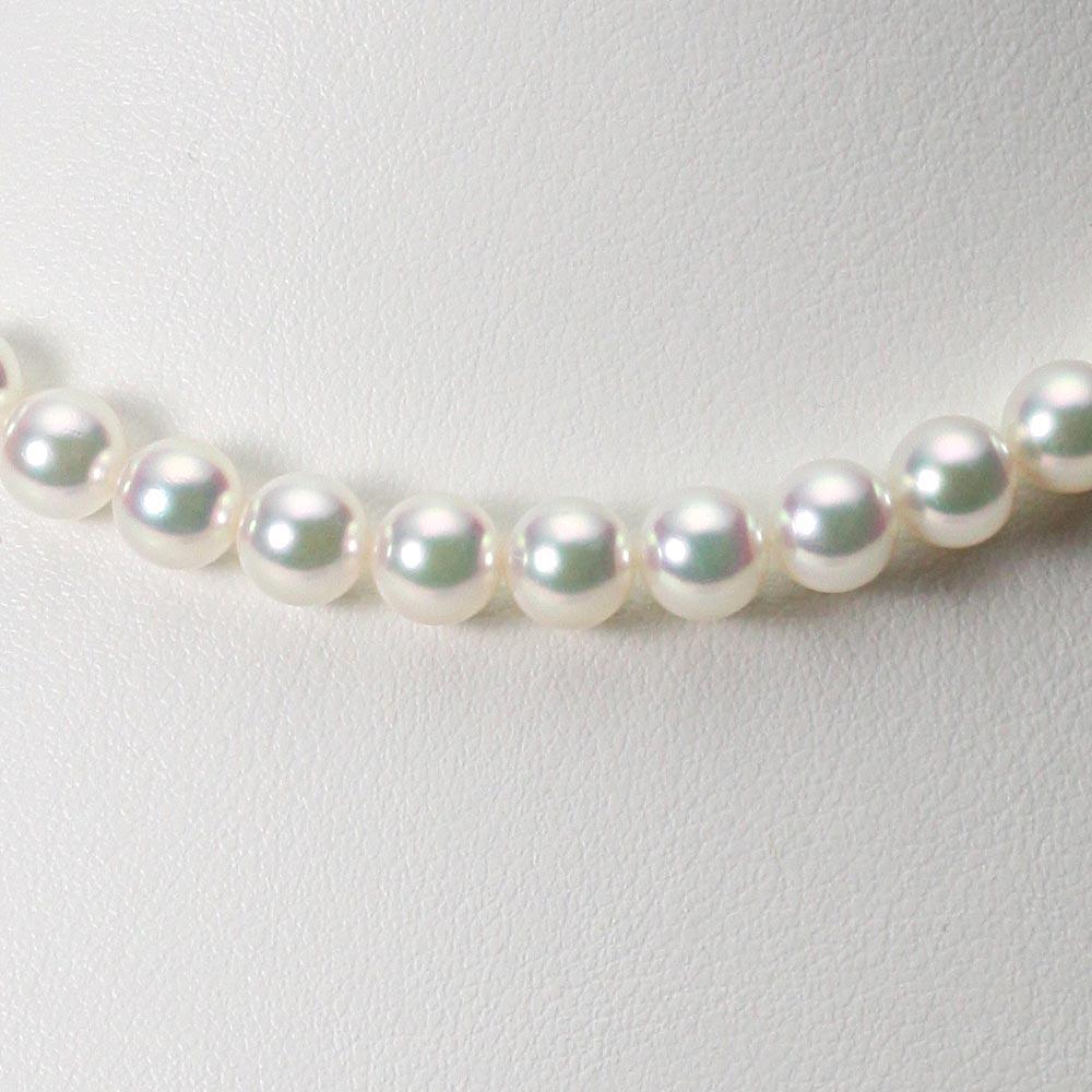 あこや真珠 パール ネックレス 7.0mm アコヤ 真珠 ネックレス レディース CA00070R11WPG00000