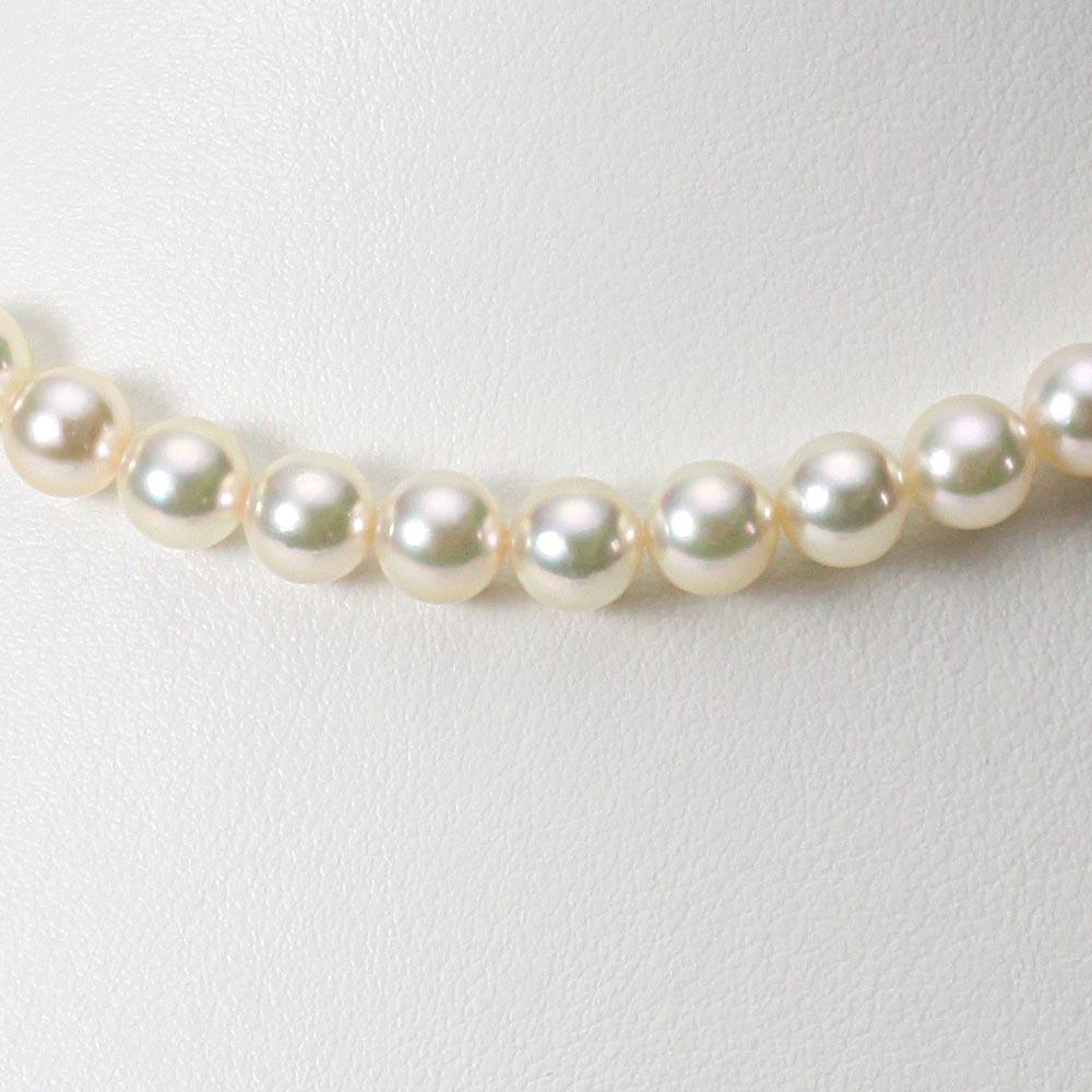 あこや真珠 パール ネックレス 7.0mm アコヤ 真珠 ネックレス レディース CA00070R21CW000000