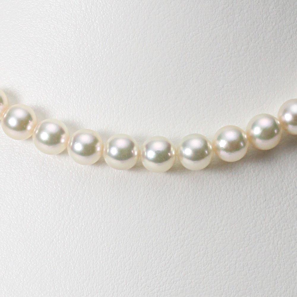 あこや真珠 パール ネックレス 7.0mm アコヤ 真珠 ネックレス レディース CA00070R23CW000000