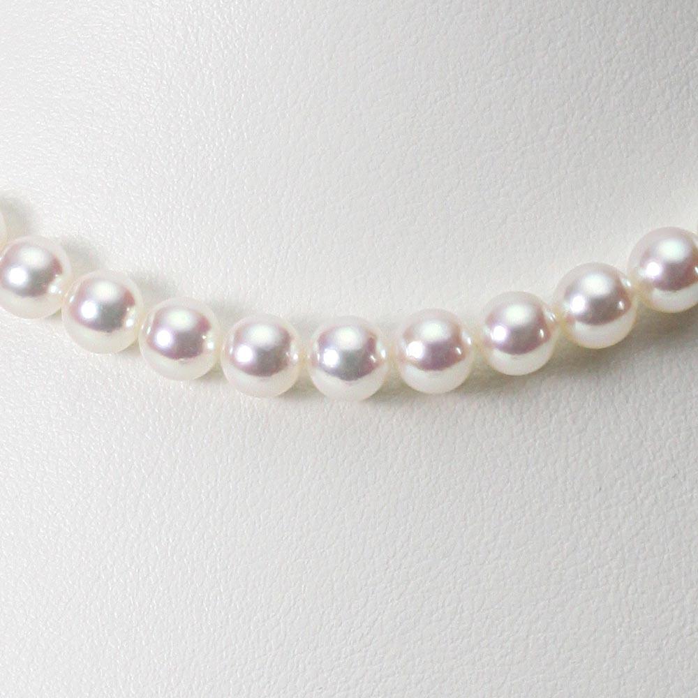 あこや真珠 パール ネックレス 7.0mm アコヤ 真珠 ネックレス レディース CA00070R32WPN00000