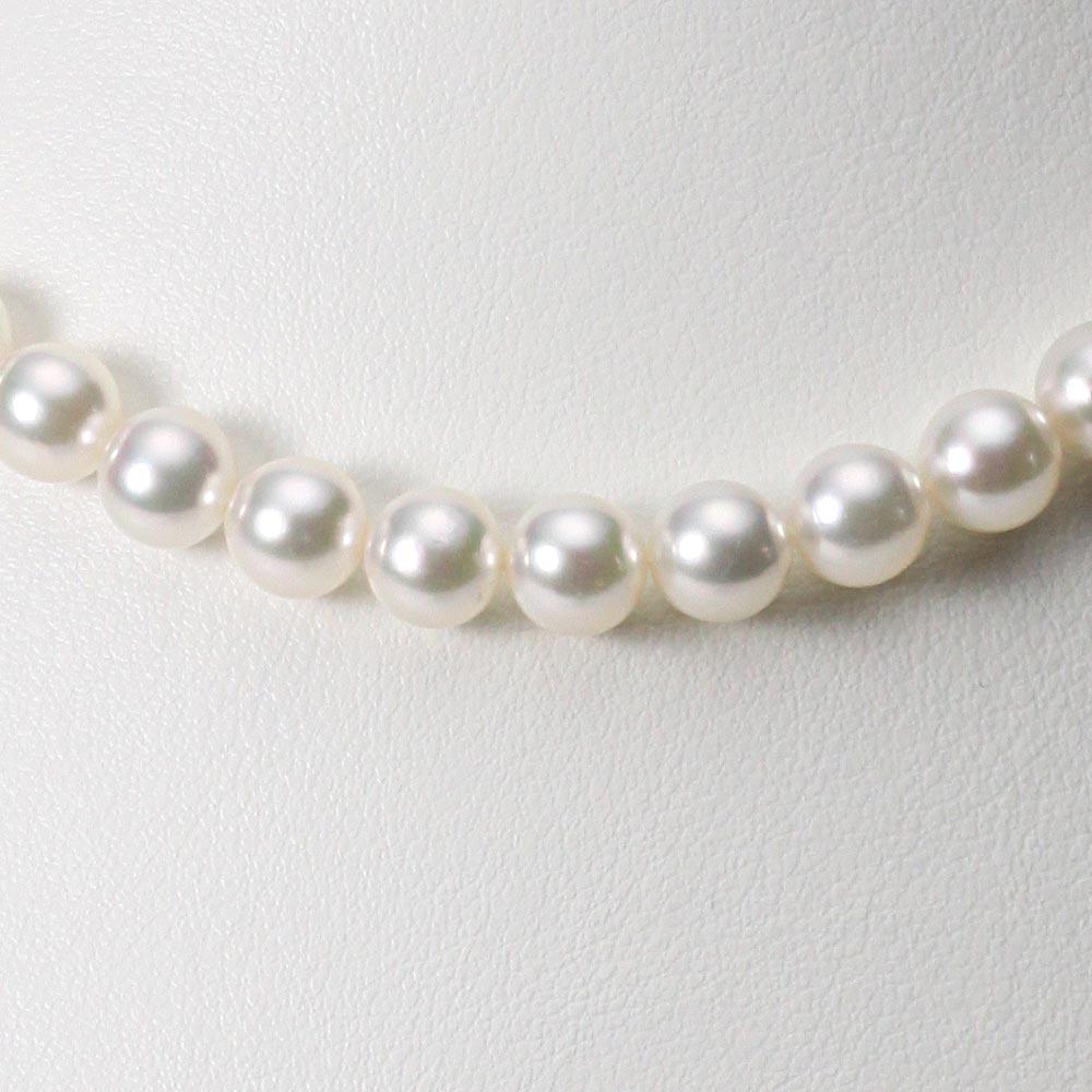 あこや真珠 パール ネックレス 7.5mm アコヤ 真珠 ネックレス レディース CA00075O13WPG00000