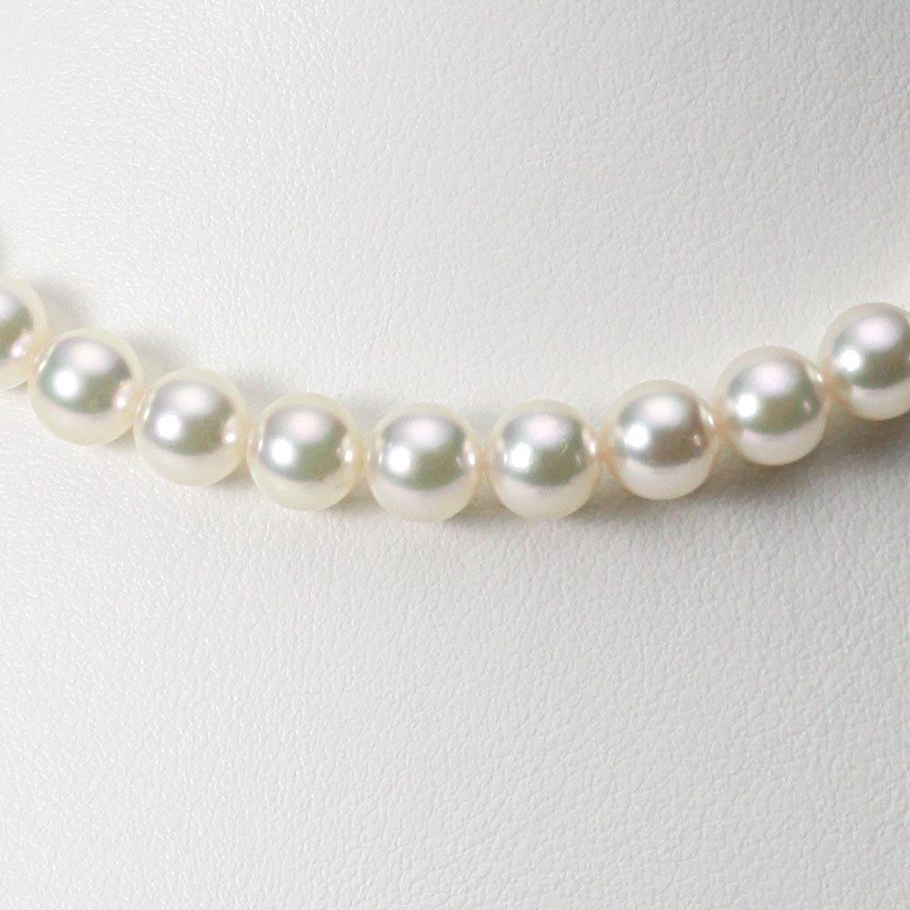 あこや真珠 パール ネックレス 7.5mm アコヤ 真珠 ネックレス レディース CA00075R13CW000000