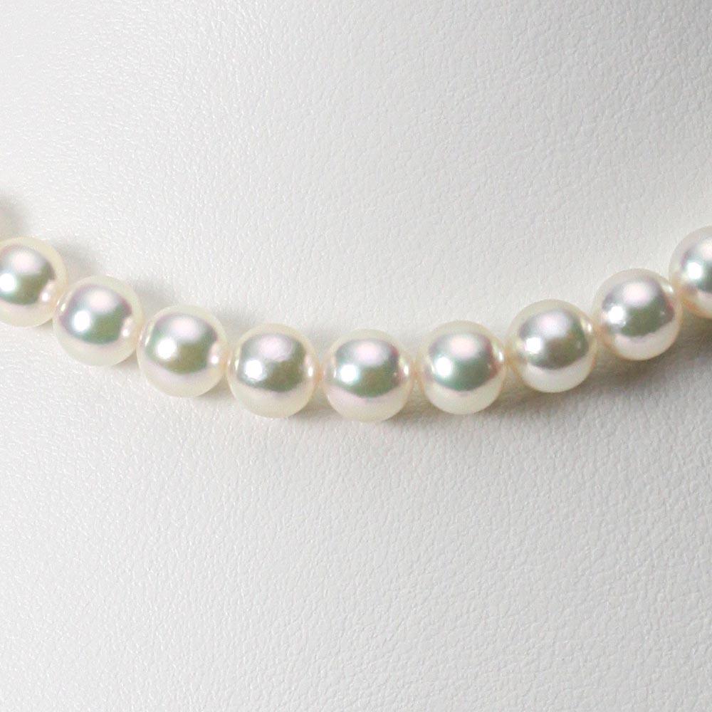 あこや真珠 パール ネックレス 7.5mm アコヤ 真珠 ネックレス レディース CA00075R22CW000000