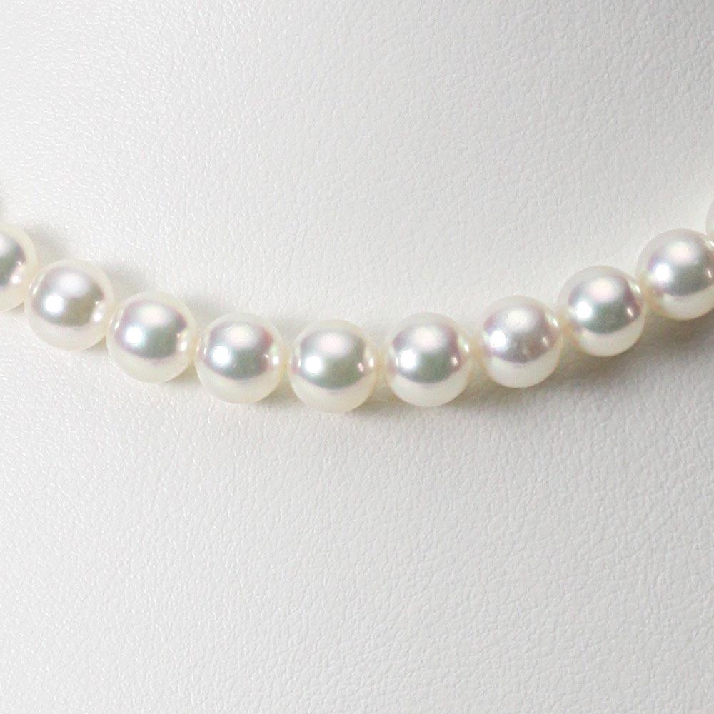 あこや真珠 パール ネックレス 7.5mm アコヤ 真珠 ネックレス レディース CA00075R22WPG00000
