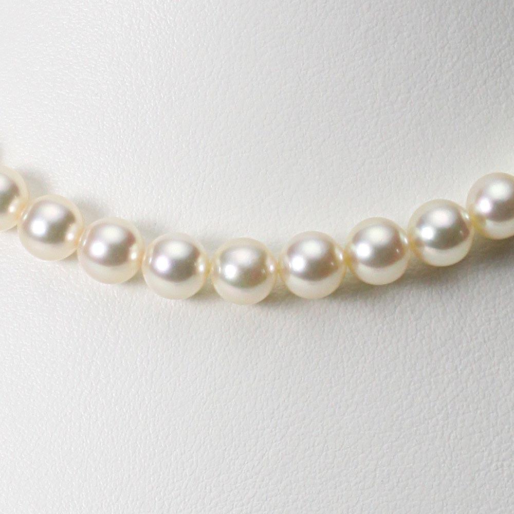 あこや真珠 パール ネックレス 7.5mm アコヤ 真珠 ネックレス レディース CA00075R23CG000000