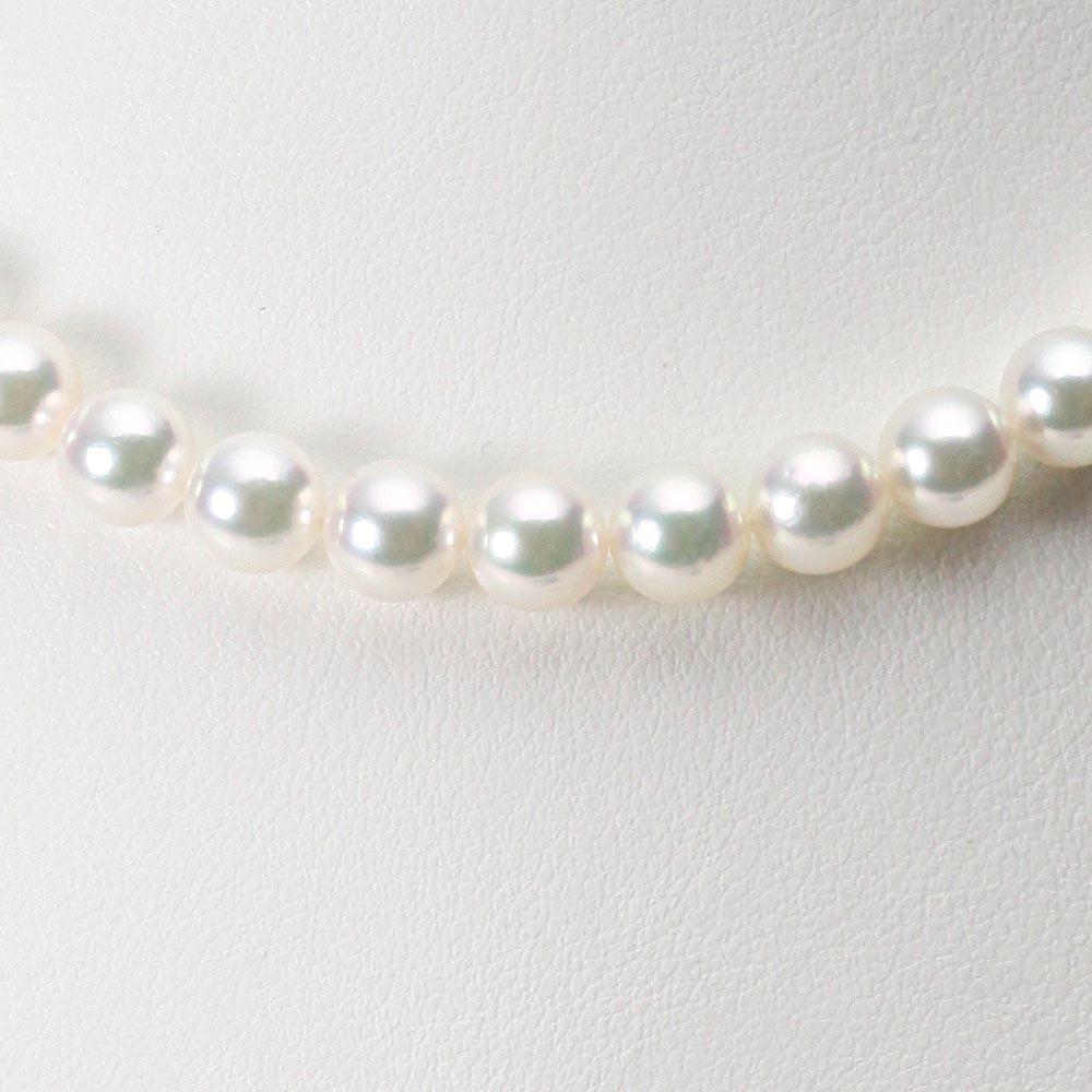 あこや真珠 パール ネックレス 7.5mm アコヤ 真珠 ネックレス レディース CA00075R32WPG00000