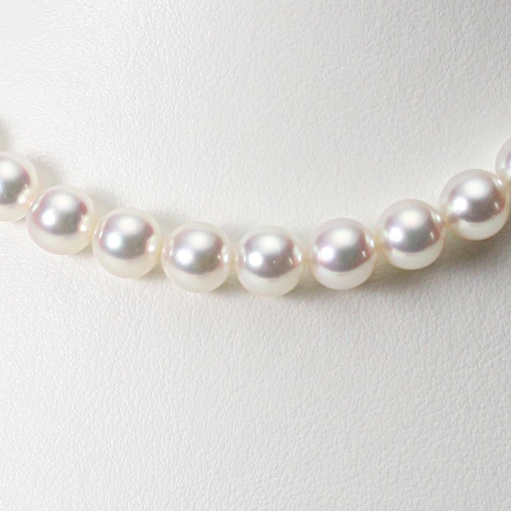あこや真珠 パール ネックレス 8.0mm アコヤ 真珠 ネックレス レディース CA00080O11WPN00000