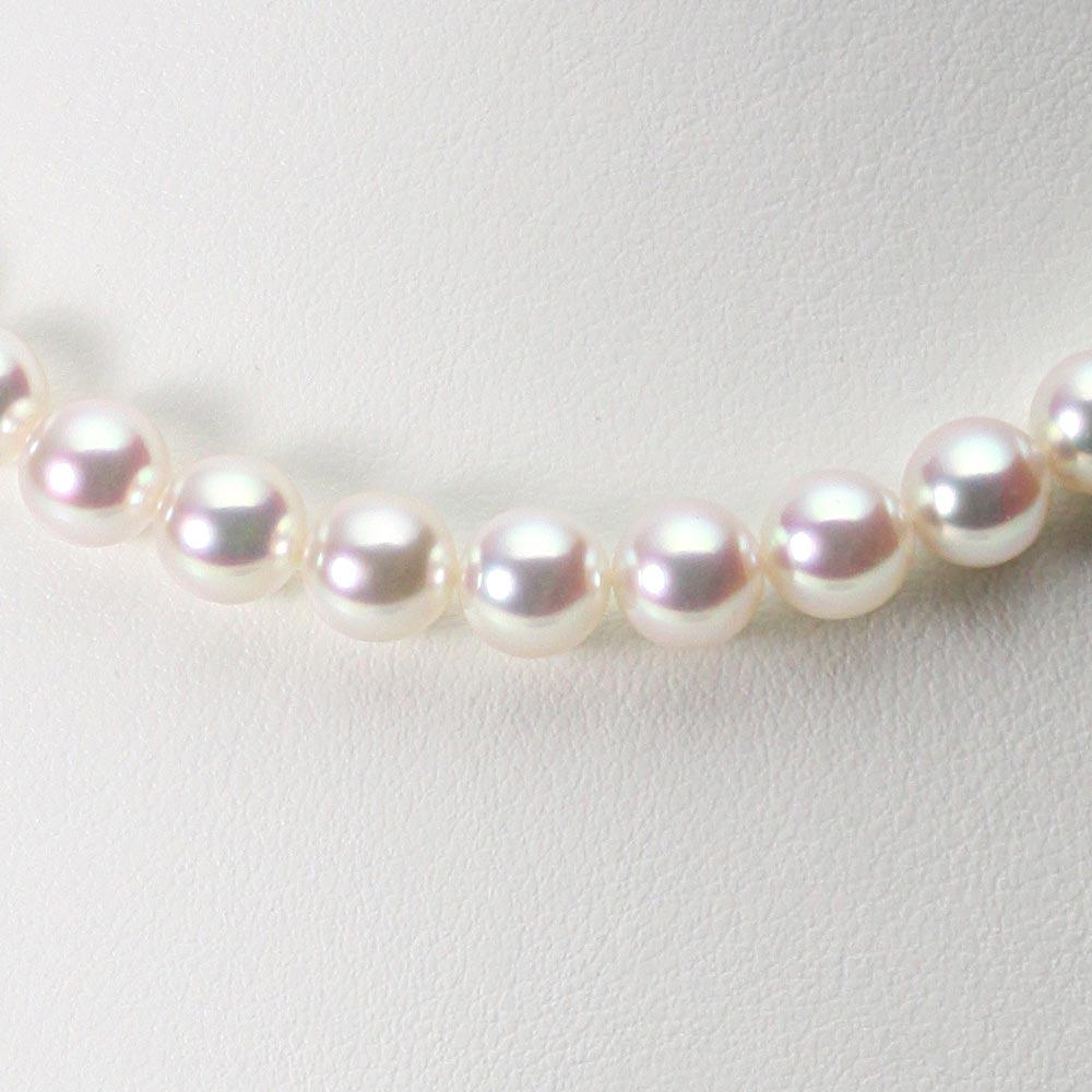 あこや真珠 パール ネックレス 8.0mm アコヤ 真珠 ネックレス レディース CA00080O12WPN00000