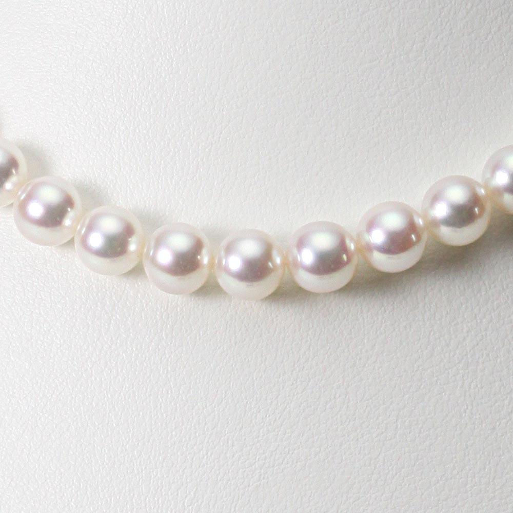 あこや真珠 パール ネックレス 8.0mm アコヤ 真珠 ネックレス レディース CA00080O33WPN00000