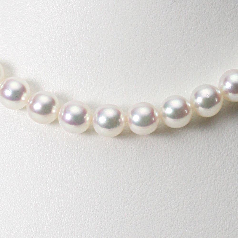 あこや真珠 パール ネックレス 8.0mm アコヤ 真珠 ネックレス レディース CA00080O52WPN00000